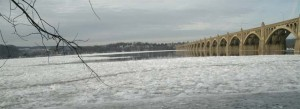 Susquehanna River, Jan. 8th, 2014