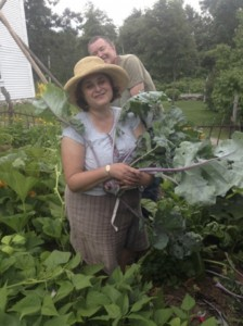 Kohlrabi (with author)