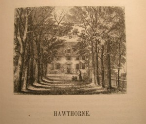 Ol Manse Illustration from the Book