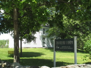 Henry's birthplace, Thoreau Farm, located at 341 Virginia Road.