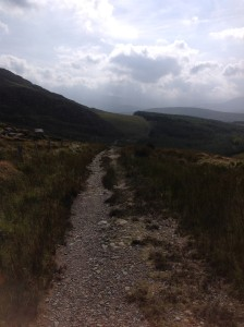 The way up from Kenmare