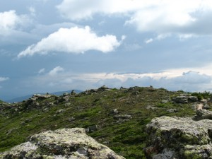 White Mtn uplands, where sky and land come close