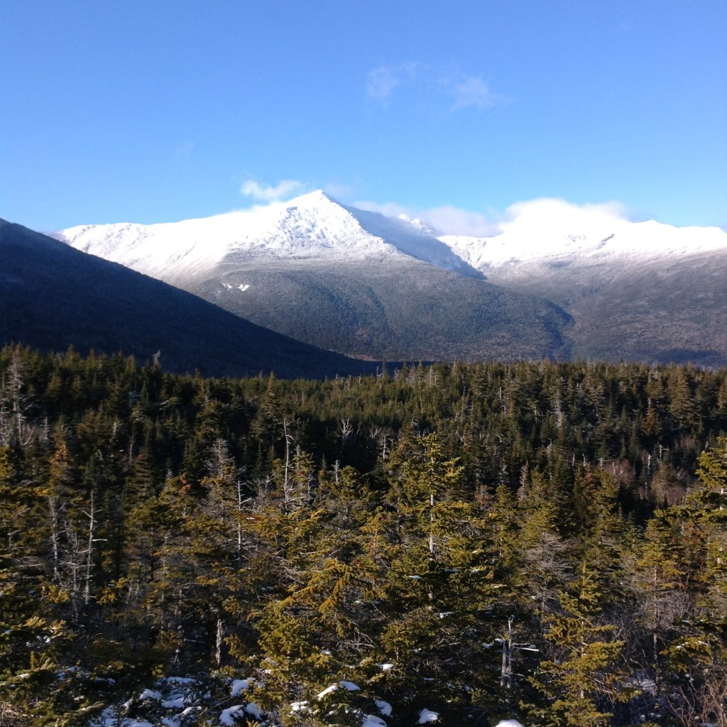 In another season (coming soon), Mts. Adams and Madison, from Low's Bald Spot