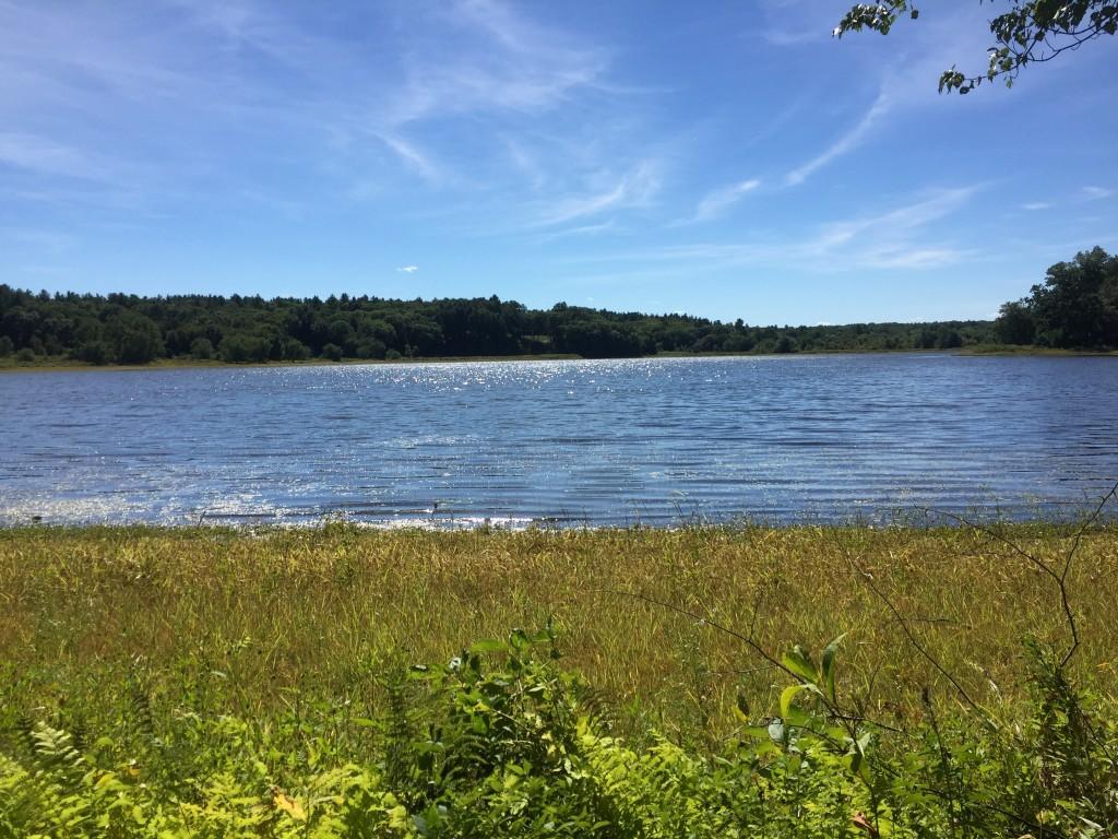 Fairhaven Bay - upstream for Henry Thoreau.